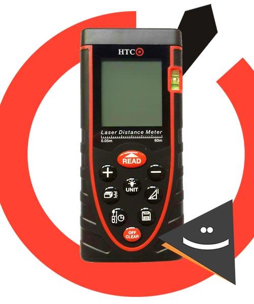 متر لیزری HTC مدل LD02