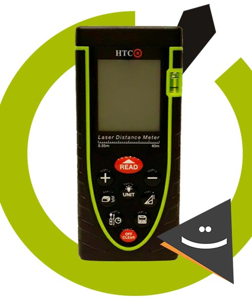 متر لیزری HTC مدل LD04