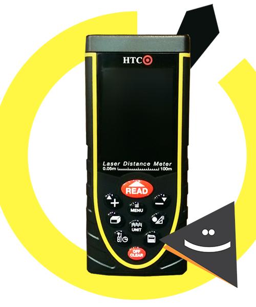 متر لیزری HTC مدل LDT01