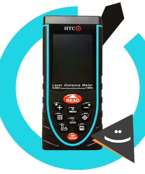 متر لیزری HTC
