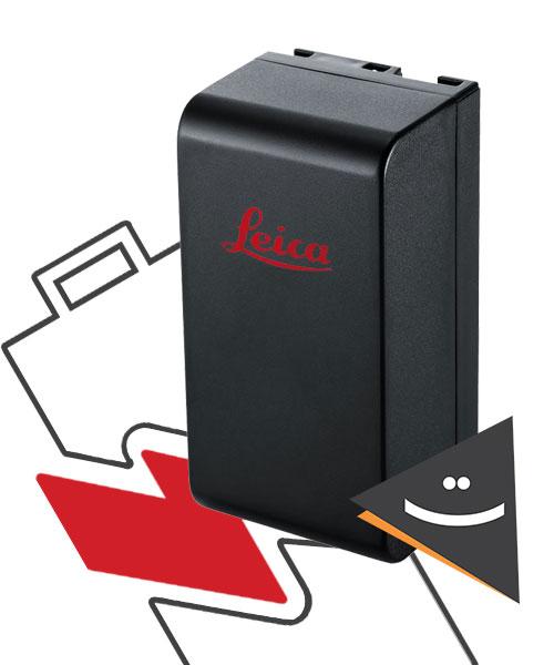 باتری توتال استیشن لایکا