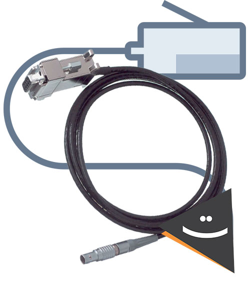 کابل لایکا,کابل سندینگ,کابل توتال استیشن,کابل تخلیه اطلاعات,کابل USB