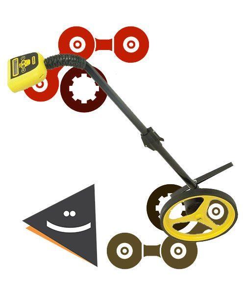 چرخ متر دیجیتالی