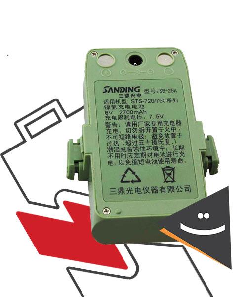 باتری توتال استیشن سندینگ