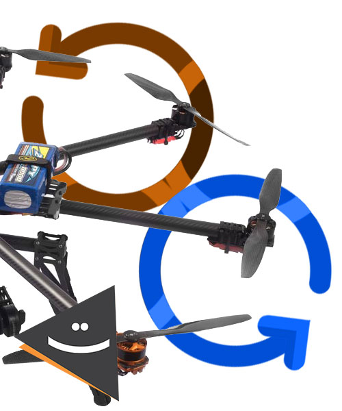 پرنده مولتی روتور نقشه برداری آماده پرواز مدل Tomcat