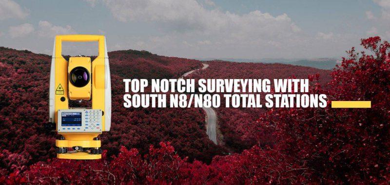 توتال استیشن SOUTH مدل N8/N80