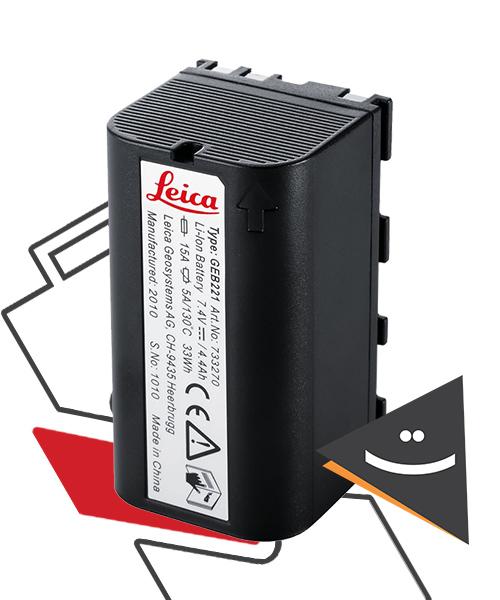 باتری توتال استیشن لایکا GEB221