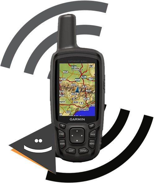 جی پی اس دستی Garmin مدل Map 64sc