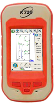 کنترلر گیرنده ماهواره ای KOLIDA مدل K5Plus+ Infinity RTK