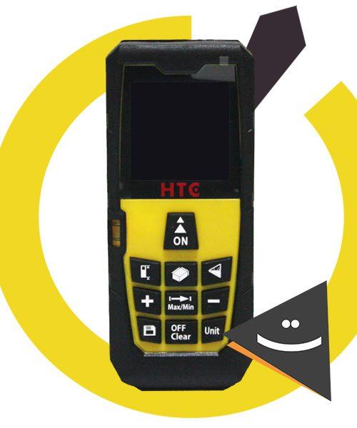 متر لیزری HTC مدل HA-100