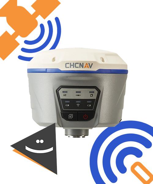 گیرنده مولتی فرکانس CHC مدل i50
